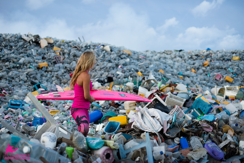 Clean Bodies of Water Photos of the week: Alison Teal Maldives - Plastic pollution